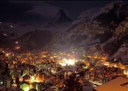 sation de ski de nuit