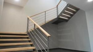 Le garde-corps d'escalier