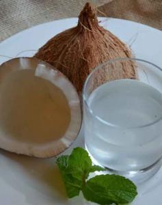 L'eau de coco lors du régime detox