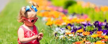 enfant-jardin