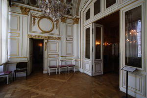 hall d'un bâtiment luxueux