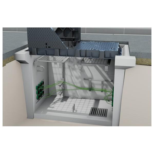 Chambre de tirage installations de t l communication - Chambre de tirage fibre optique ...