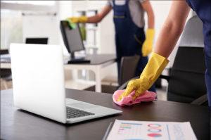 nettoyer les bureaux